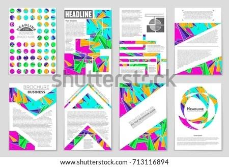 Abstract Vector Layout Background Set Art Imagem Vetorial De Banco - blank sign in sheet