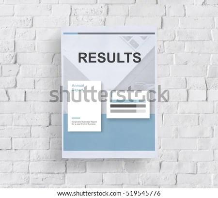 Performance Analysis Progress Report Summary Concept Stock Photo - performance analysis report
