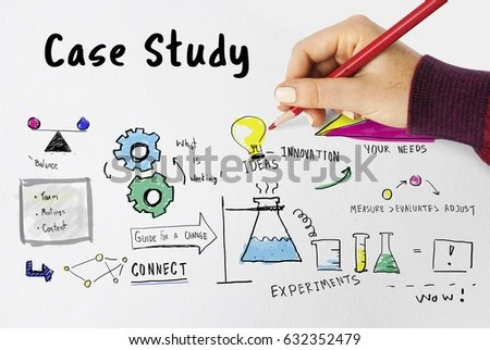 Information Case Study Research Verification Analysis Stock Photo - Case Analysis