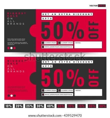 Discount Voucher Design kicksneakers - discount voucher design