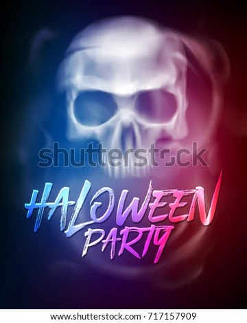 Halloween Party Flyer Brochure Template Transparent Stock Vector - party brochure template
