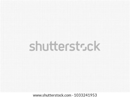 White Paper Gray Line Grid Vector Stock Vector (2018) 1033241953 - note paper template
