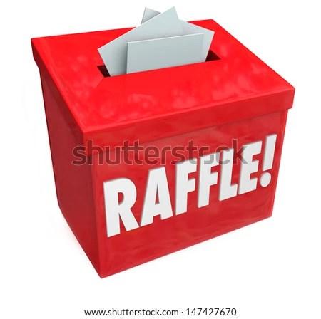 Dropping Tickets Inside Raffle Box 5050 Stock Illustration 147427670