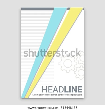 pamphlet layout template