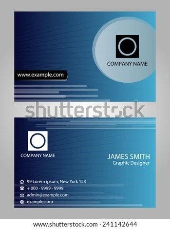 3d Visit Card Stock Images, Royalty-Free Images \ Vectors - name card example