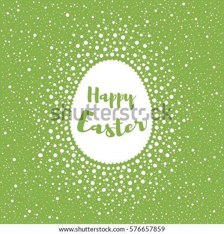 Happy Easter Greeting Card Template Splash Stock Vector 576657859 - easter greeting card template