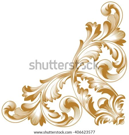 Baroque border stock images royalty free images amp vectors