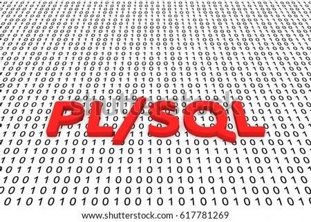 PL SQL Form Binary Code 3 D Stock Illustration 617781269 - Shutterstock - p-l form