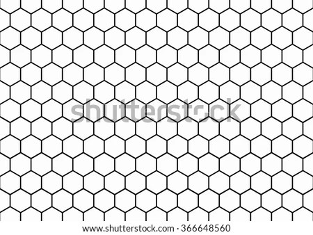 Abstract Seamless Pattern Background Like Soccer Stock Vector