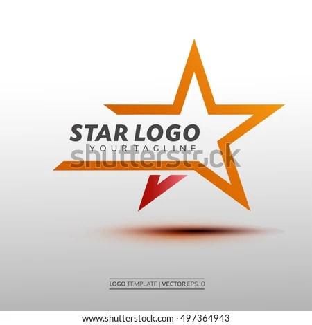 Star Logo Vector Vector Illustration Eps 10 Stock Vector (Royalty