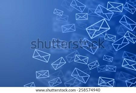 Mail Background Stock Illustration 258574940 - Shutterstock - mail background