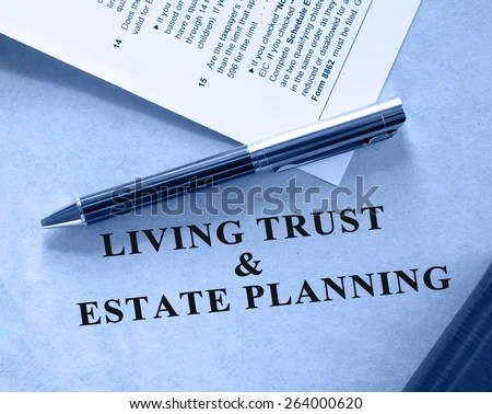 Wills And Trusts Stock Images, Royalty-Free Images \ Vectors - living trust form