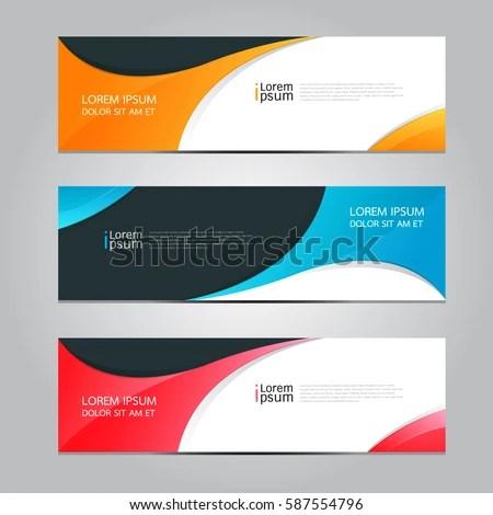 Vector Design Banner Background Stock Vector (2018) 587554796