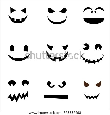 Halloween Ghost Face Template wwwpicturesso