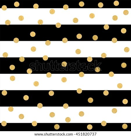 Black And White Polka Dot Wallpaper Border Gold Purple Stripes Background Stock Images Royalty Free