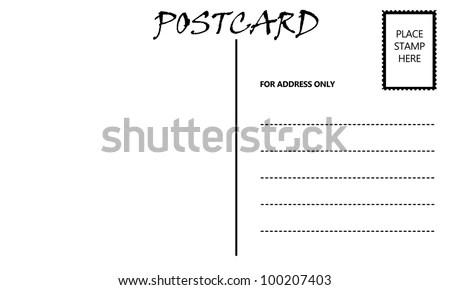 Postcard Template Pdf Format 5×7 Postcard Template 18+ 5×7 - printable postcard template free