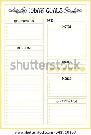 simple to do list template xv-gimnazija