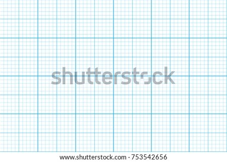 Graph Paper Seamless Pattern Architect Background Stock Vector - grid paper template
