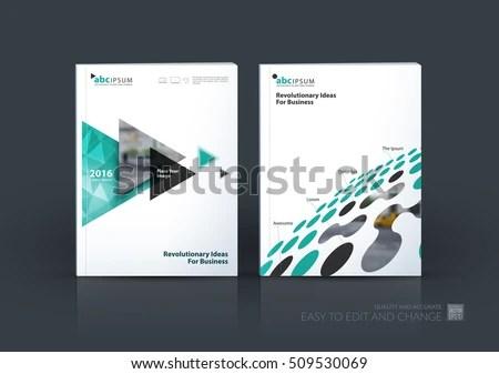 Business Vector Set Brochure Template Layout Stock Vector (2018 - emerald flyer template