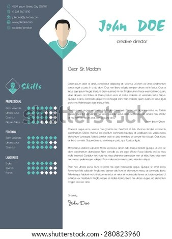 Job Cover Letter Stock Images, Royalty-Free Images \ Vectors - cover letter designs