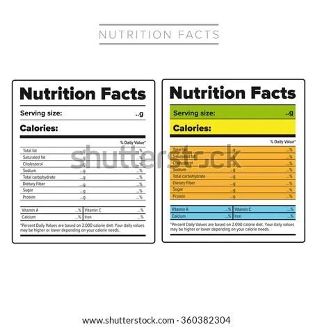 Ingredients label template templatescharacterworldco – Ingredient Label Template