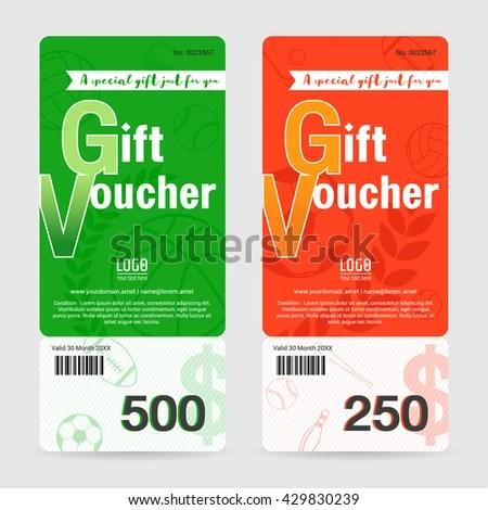 Gift Voucher Format - Fiveoutsiders - gift voucher format