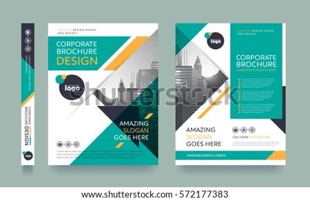 Poster Flyer Pamphlet Brochure Cover Design Stock Vector 572177383 - pamphlet layout template