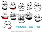 Emotional Cartoon Faces