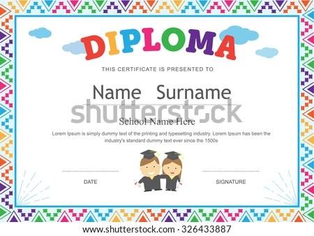 ... Sample Certificates For Kids Sample Certificate Of Participation    Certificate Of Participation Template ...