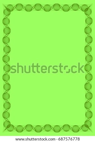 solid green border page border book pages green border download - solid green border