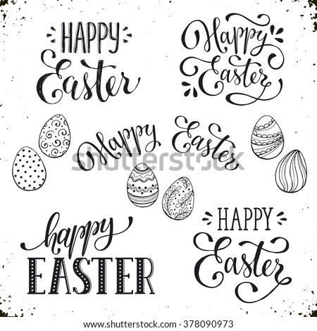 Happy Easter Stock Images, Royalty-Free Images \ Vectors - sample easter postcard template