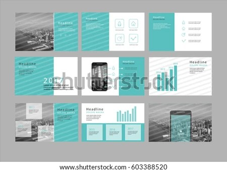Presentation Flyer Pamphlet Brochure Template Design Stock Vector - phamplet template