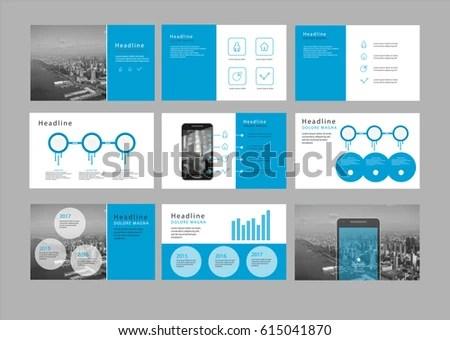 Presentation Flyer Pamphlet Brochure Template Design Stock Vector HD - pamphlet layout template