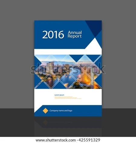 Cover Design Annual Report Brochure Flyer Stock Vector (Royalty Free