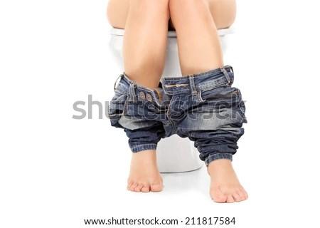 toilet pee