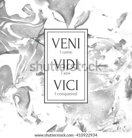 Parks And Recreation Wallpaper Quotes Veni Vidi Vici Stock Images Royalty Free Images Amp Vectors
