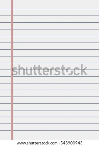 Notebook Paper Background Lined Paper Stock Photo (Photo, Vector
