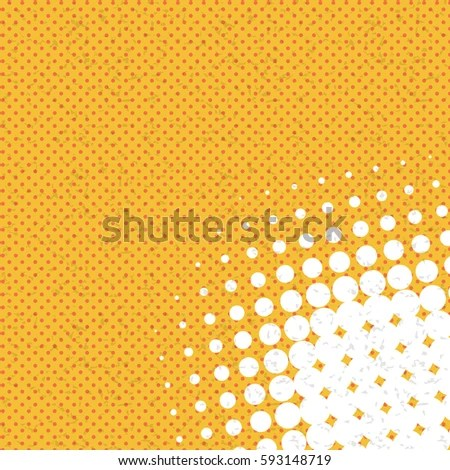Funny Dot Template Vector Illustration Vintage Stock Vector - dot paper template