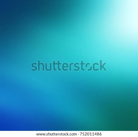Blue Green Gradient Abstract Background Stock Illustration 752011486