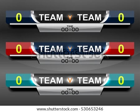 scoreboard templates - Minimfagency