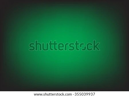 Abstract Green Background Smooth Gradient Colors Stock Vector