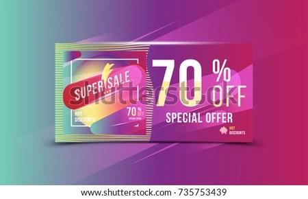 Super Sale 70 Off Discount Bright Stock Photo (Photo, Vector