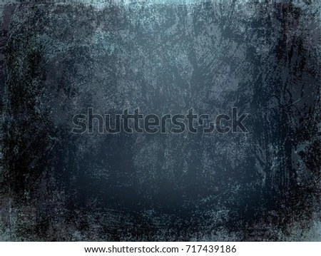 Black Grunge Wall Texture Rough Scratched Stock Illustration