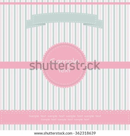 Vintage Cover Template Important Dates Stock Vector 362318639 - important dates template