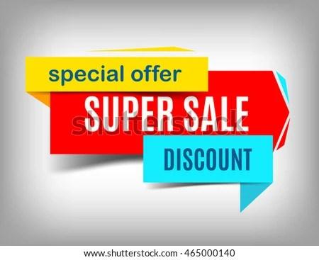 Sale Red Banner Super Sale Poster Stock Vector 465000140 - Shutterstock - sale poster design