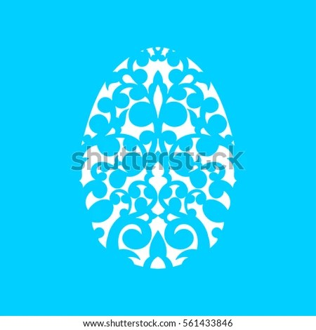 Happy Easter Greeting Card Template Paper Stock Vector 561433846 - easter greeting card template