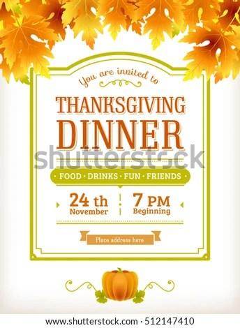 thanksgiving dinner invitation blank free printable thanksgiving