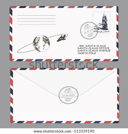 letter from santa envelope template radiofixer
