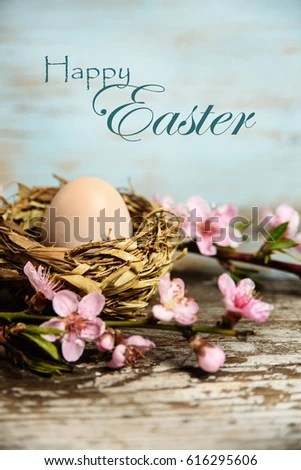 Happy Easter Greeting Card Template Easter Stock Photo (100 Legal - easter greeting card template