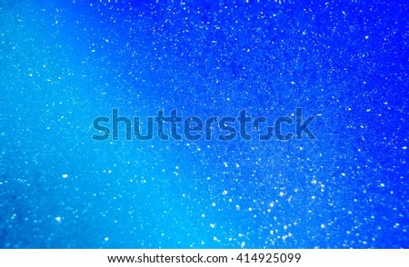 Blue Bubble Background Shimmer Effect Abstract Stock Photo (Royalty